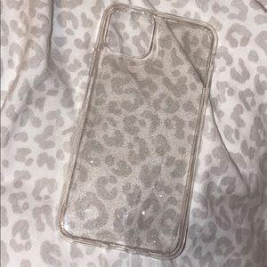 Clear Glitter 11 Pro Max IPhone Case
